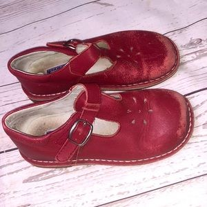 Girls Red Boutique Shoes size 13C